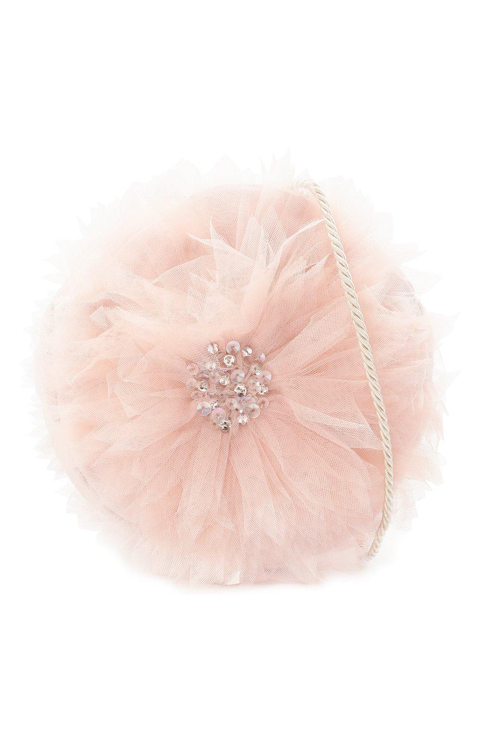 Детская сумка TUTU DU MONDE розового цвета, арт. TDM5393 | Фото 4 (Материал: Текстиль)