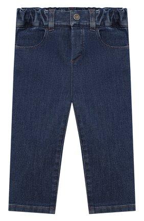Детские джинсы LORO PIANA синего цвета, арт. FAL3472 | Фото 1