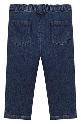 Детские джинсы LORO PIANA синего цвета, арт. FAL3472 | Фото 2