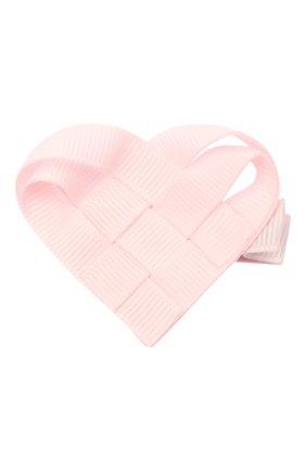 Детская заколка MILLEDEUX светло-розового цвета, арт. 115-VAC-01 | Фото 1