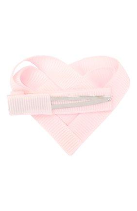 Детская заколка MILLEDEUX светло-розового цвета, арт. 115-VAC-01 | Фото 2