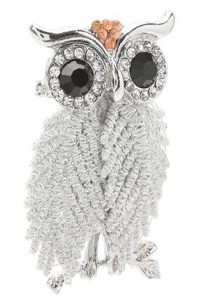 Детская брошь сова ALESSANDRO BORELLI MILANO серебряного цвета, арт. BROSH | Фото 2