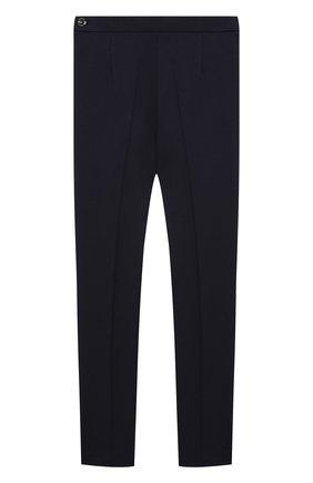 Детские брюки зауженные с завышенной талией ALESSANDRO BORELLI MILANO синего цвета, арт. P20219-5-20л | Фото 1