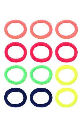 Детская комплект из 12-ти резинок soft basic xs JUNEFEE разноцветного цвета, арт. 6562 | Фото 1