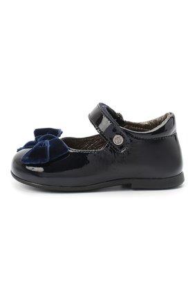 Детские кожаные туфли NATURINO синего цвета, арт. 0012015452/01/19-26   Фото 2