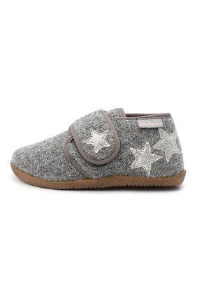 Детского домашние ботинки NATURINO серого цвета, арт. 0014000620/01/24-26 | Фото 2