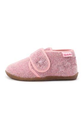 Детского домашние ботинки NATURINO розового цвета, арт. 0014000620/01/27-29 | Фото 2