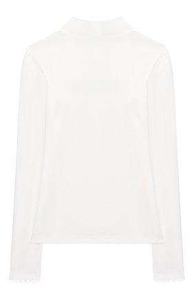 Детская хлопковая блузка ALESSANDRO BORELLI MILANO белого цвета, арт. J20166-20л | Фото 2