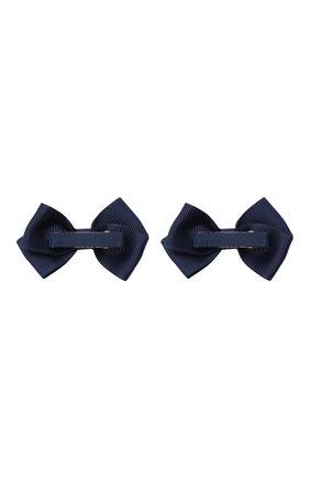 Детская комплект из двух заколок wavy JUNEFEE синего цвета, арт. 6592 | Фото 2