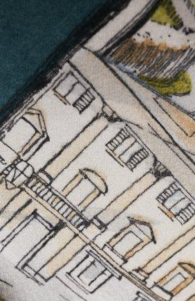 Мужского кашемировый плед LORO PIANA разноцветного цвета, арт. FAI3668 | Фото 2