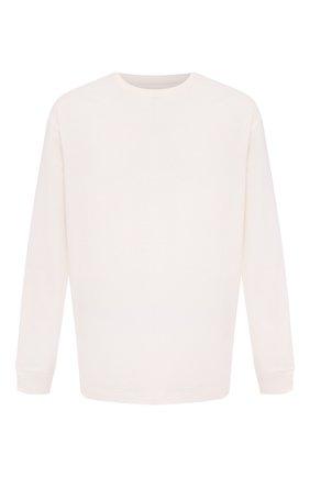 Мужская хлопковый лонгслив BOTTEGA VENETA белого цвета, арт. 625983/VF1U0 | Фото 1
