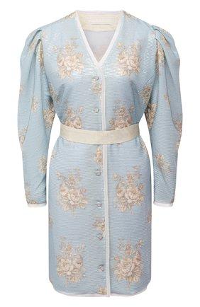 Женское платье ULYANA SERGEENKO голубого цвета, арт. ABC009SS20P (0471т20) | Фото 1