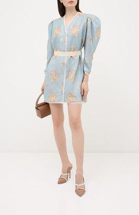 Женское платье ULYANA SERGEENKO голубого цвета, арт. ABC009SS20P (0471т20) | Фото 2