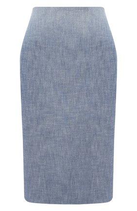 Женская юбка RALPH LAUREN синего цвета, арт. 290812686 | Фото 1