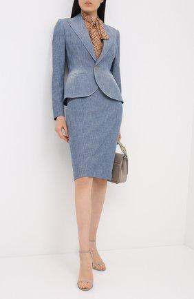 Женская юбка RALPH LAUREN синего цвета, арт. 290812686 | Фото 2