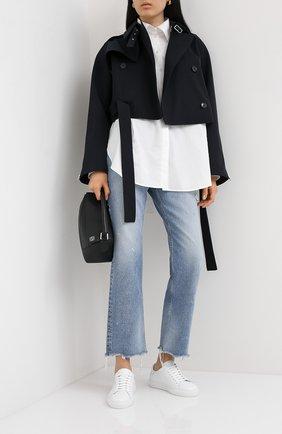 Женские кожаные кеды clean 90 AXEL ARIGATO белого цвета, арт. 98099 | Фото 2