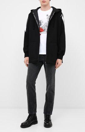 Мужская толстовка VALENTINO черно-белого цвета, арт. UV3MB01B6LQ | Фото 2