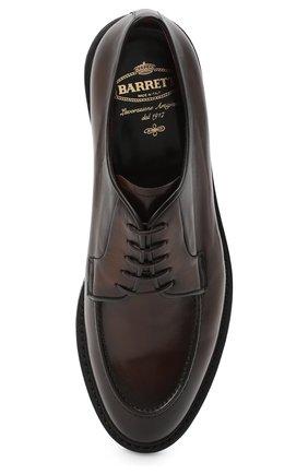 Мужские кожаные дерби BARRETT коричневого цвета, арт. 192U003.22/BETIS CREAM | Фото 5