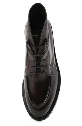 Мужские кожаные ботинки BARRETT темно-коричневого цвета, арт. 192U026.12/BETIS CREAM | Фото 5