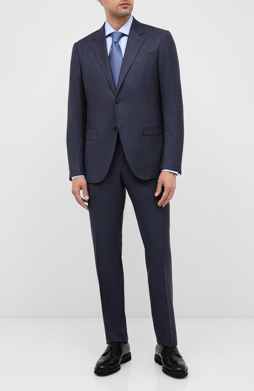 Мужские кожаные дерби BARRETT черного цвета, арт. 192U042.16/VITELL0 | Фото 2