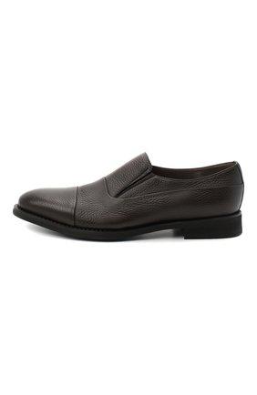 Мужские кожаные лоферы BARRETT темно-коричневого цвета, арт. 192U089.5/CERV0 ASP0RTABILE | Фото 3