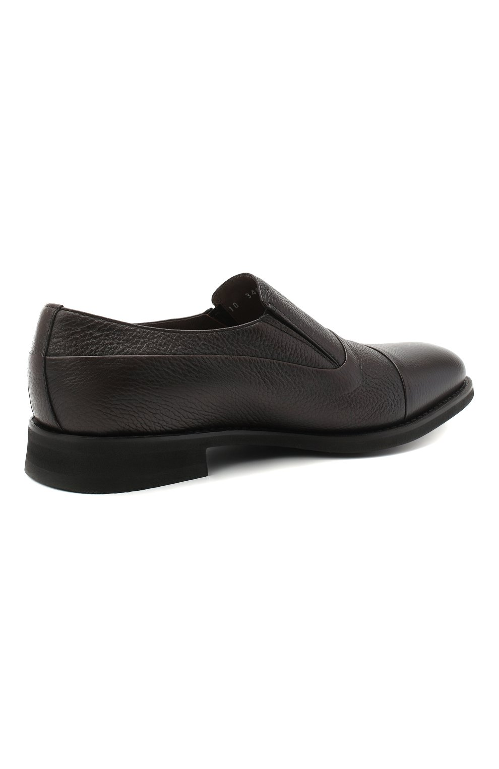 Мужские кожаные лоферы BARRETT темно-коричневого цвета, арт. 192U089.5/CERV0 ASP0RTABILE | Фото 4