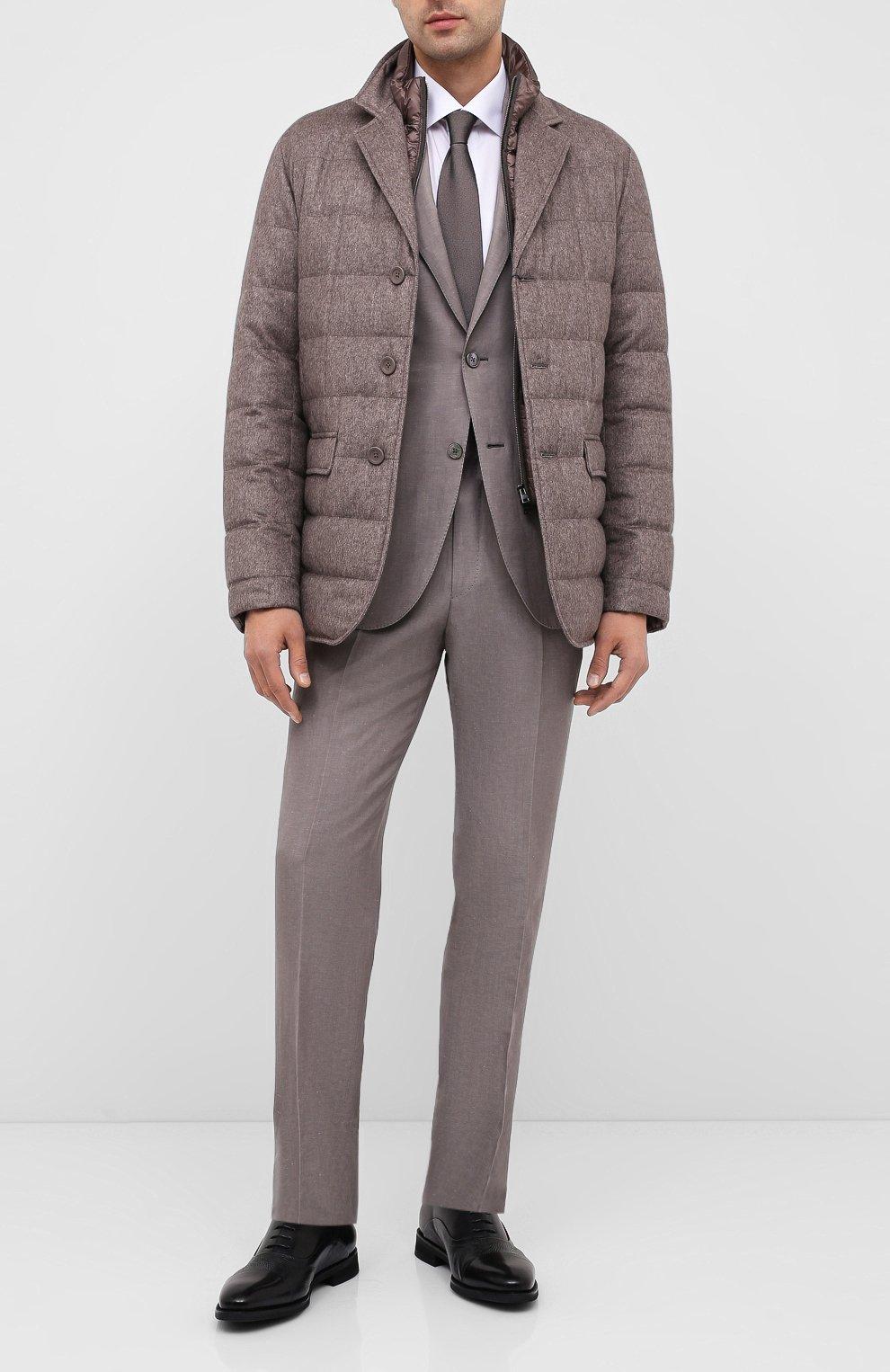 Мужские кожаные оксфорды BARRETT черного цвета, арт. 192U090.5/VITELL0 | Фото 2