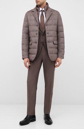 Мужские кожаные дерби BARRETT черного цвета, арт. 202U031.6/NEW B0X | Фото 2