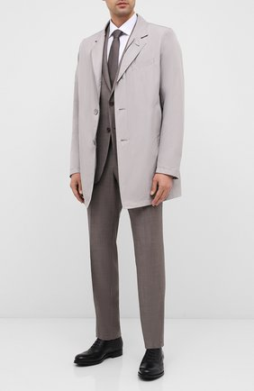 Мужские кожаные оксфорды BARRETT черного цвета, арт. 202U034.2/NEW B0X | Фото 2