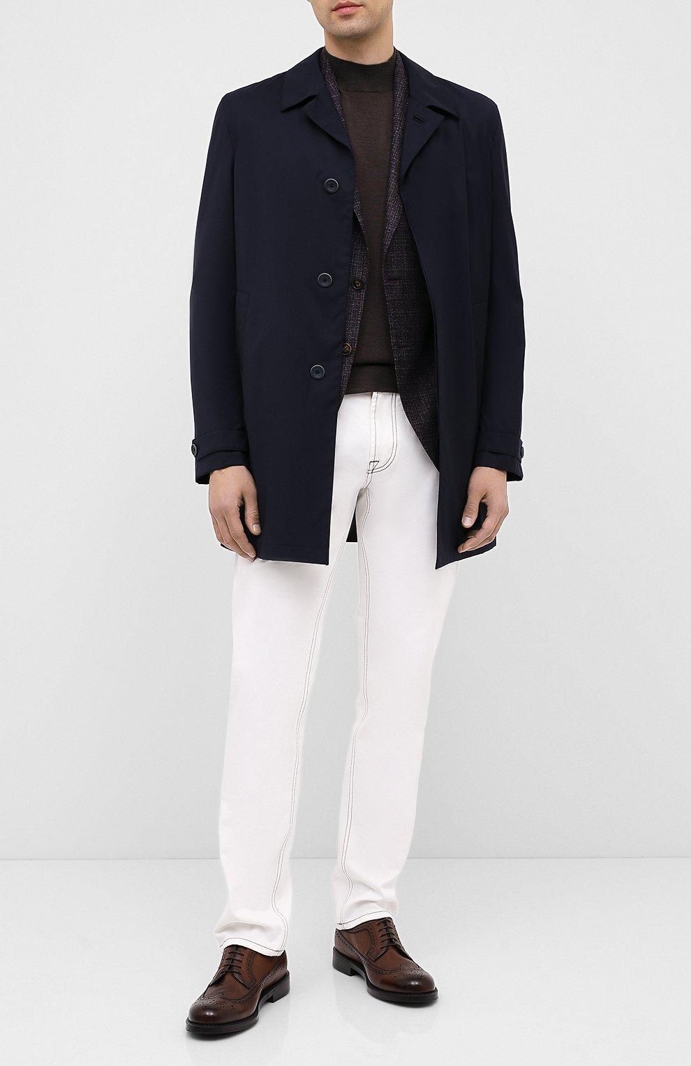 Мужские кожаные дерби BARRETT светло-коричневого цвета, арт. 202U038.13/RIX0N | Фото 2