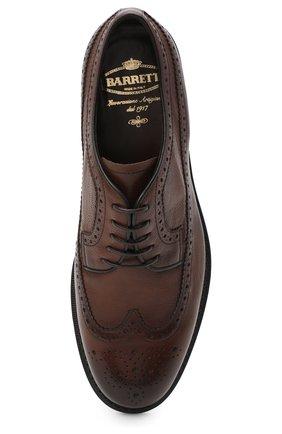 Мужские кожаные дерби BARRETT светло-коричневого цвета, арт. 202U038.13/RIX0N | Фото 5