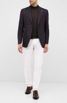 Мужской шерстяной пиджак L.B.M. 1911 темно-коричневого цвета, арт. 2411/02066 | Фото 2