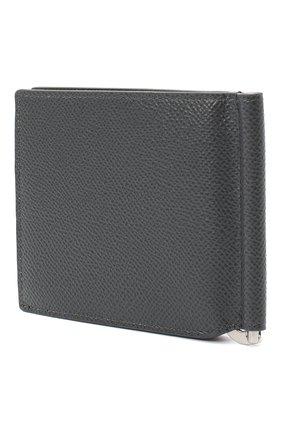 Мужской кожаный зажим для денег DOLCE & GABBANA серого цвета, арт. BP1920/AZ602 | Фото 2