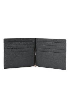 Мужской кожаный зажим для денег DOLCE & GABBANA серого цвета, арт. BP1920/AZ602 | Фото 3