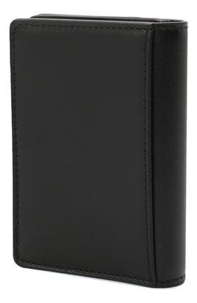 Мужской кожаный футляр для кредитных карт ALEXANDER MCQUEEN черно-белого цвета, арт. 625525/1NT0B | Фото 2