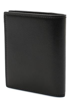Мужской кожаное портмоне ALEXANDER MCQUEEN черного цвета, арт. 625522/1XI0Y | Фото 2