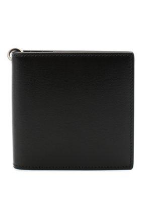 Мужской кожаное портмоне ALEXANDER MCQUEEN черного цвета, арт. 625521/1XI0Y | Фото 1