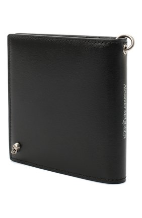 Мужской кожаное портмоне ALEXANDER MCQUEEN черного цвета, арт. 625521/1XI0Y | Фото 2