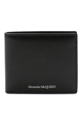 Мужской кожаное портмоне ALEXANDER MCQUEEN черного цвета, арт. 610520/1XI0Y | Фото 1