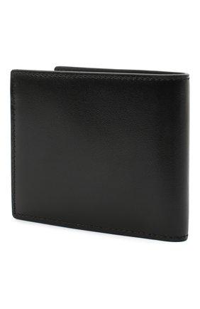Мужской кожаное портмоне ALEXANDER MCQUEEN черного цвета, арт. 610520/1XI0Y | Фото 2
