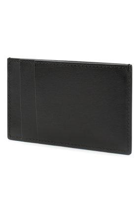 Мужской кожаный футляр для кредитных карт ALEXANDER MCQUEEN черного цвета, арт. 602144/1XI0Y | Фото 2