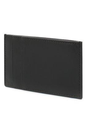 Мужской кожаный футляр для кредитных карт ALEXANDER MCQUEEN черного цвета, арт. 602144/1SJ8B | Фото 2