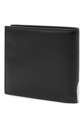 Мужской кожаное портмоне ALEXANDER MCQUEEN черно-белого цвета, арт. 602139/1NT6B | Фото 2