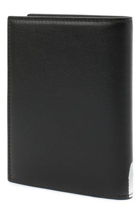 Мужская кожаная обложка для паспорта ALEXANDER MCQUEEN черно-белого цвета, арт. 601692/1NT6B | Фото 2