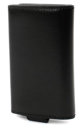 Мужская кожаный футляр для ключей ALEXANDER MCQUEEN черного цвета, арт. 548681/1XI0Y | Фото 2