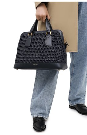Женская сумка GIORGIO ARMANI темно-синего цвета, арт. Y1A178/YTE5D | Фото 2