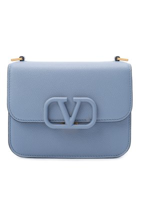 Женская сумка valentino garavani vsling VALENTINO голубого цвета, арт. UW2B0F01/RQR   Фото 1