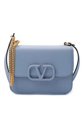Женская сумка valentino garavani vsling VALENTINO голубого цвета, арт. UW2B0F01/RQR   Фото 6