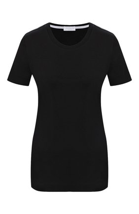 Женская хлопковая футболка ESCADA SPORT черного цвета, арт. 5033716 | Фото 1