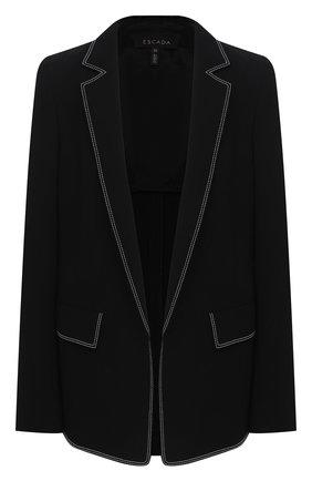 Женский жакет ESCADA черного цвета, арт. 5033653 | Фото 1